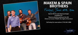 Makem & Spain @ Conor O'Neill's Irish Pub & Restaurant