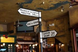 Irish Signpost in Boulder
